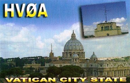 HV0A – Vatican City – a rare one!