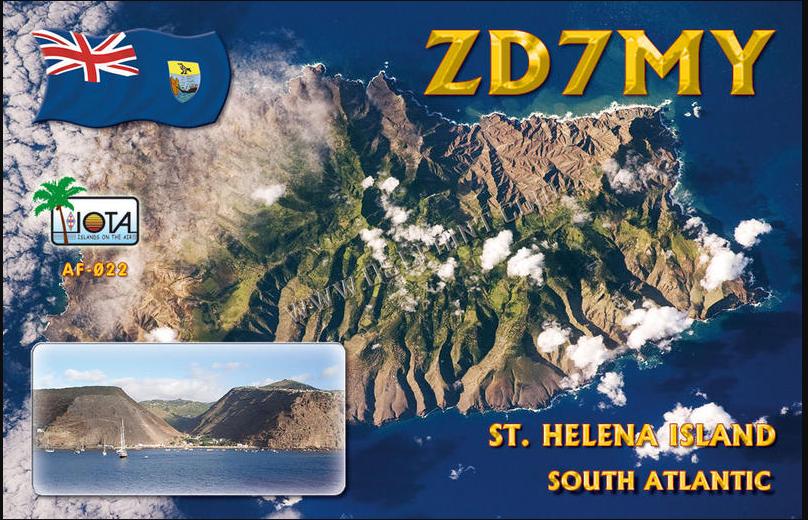 St Helena – New DXCC on 12m